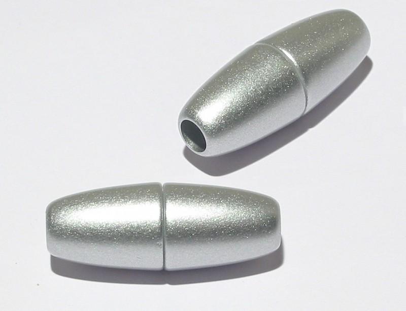 magnetverschluss olive silbergrau matt zum einkleben von 3. Black Bedroom Furniture Sets. Home Design Ideas