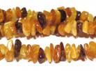 Strang Bernsteinsplitter multicolor 70 cm