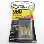 UHU Alleskleber super Strong & Save Minis 3 x 1g.