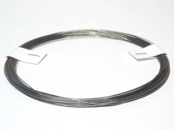 10 m Stahlseil 0,4 mm, nylonummantelt