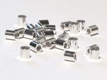 Quetschröhrchen 2 / 2,2mm, 925 Silber