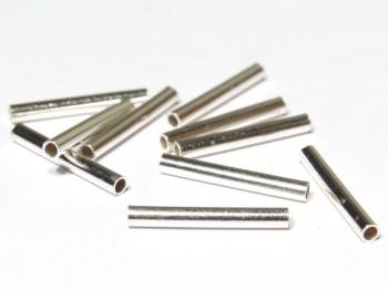 Rohr 2 x 15 mm, 925 Silber