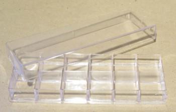Sortierbox 12 Fächer, 160 x 56 mm