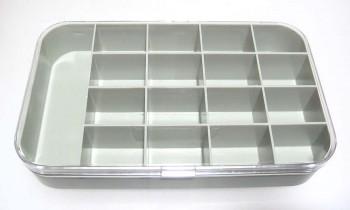 Sortierbox 17 Fächer, 190 x 110 mm