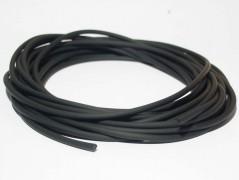 Kautschukband schwarz 2 mm