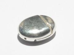 Magnetverschluss Oval mehrreihig, 925 Silber