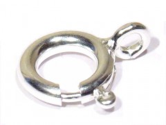 Federring 6 mm, 925er Silber