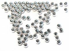 Quetschkugeln 2,5 mm, 925 Silber - 50 Stk.