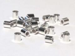 Quetschröhrchen 2 / 2,2mm, 925 Silber - 10 Stk.