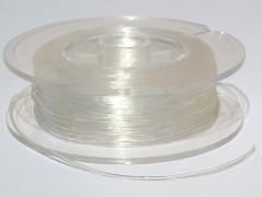 Elastikband klar 0,5 mm, 1 m
