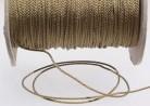 Nylonschnur 1,2 mm für Shamballa und Rosenkranz, Fb. hanf
