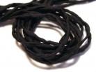 Seidenband schwarz, länge 1m