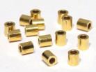 Quetschröhrchen 2 / 2,2mm, 925 Silber vergoldet - 10 Stk.
