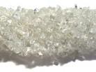 Strang Bergkristallsplitter, 90 cm