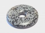 40 mm Donut Schneeflocken Obsidian