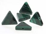 Malachit Dreieck 17 mm