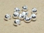 Klappkugel / Kaschierkugel 4 mm, 925er Silber