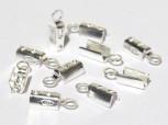 Klemmbleche zum Quetschen 2 mm, 925 Silber