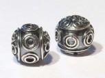 Kugel Bali 9 mm, Silber